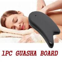 Natural Stone Guasha Board Facial Body Massage Scrape Therapy Tool