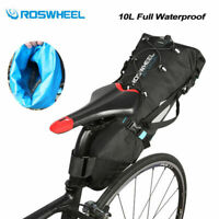 Roswheel MTB Road Bike Seat Bag Waterproof Bicycle Bikepacking Saddle Bag