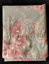 Ralph Lauren Shetland Manor Floral QUEEN FLAT Sheet 100% Cotton