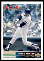 1993 UPPER DECK CLARK BAR REGGIE JACKSON NEW YORK YANKEES #C1