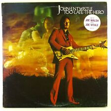 """12"""" LP - John Entwistle - Too Late The Hero - #L7557 - washed & cleaned"""