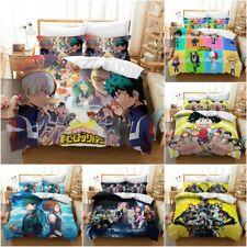My Hero Academia Bedding Set 3PCS Duvet Cover Pillowcase Anime Print Quilt Cover