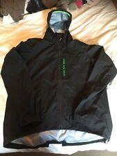 Gore Bike Wear Cycling Hooded Goretex Jacket Mens Eur XXL BNWOT BLACK