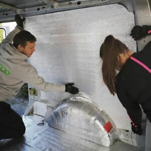 Low-E Insulation Campervan Warmer in Winter Cooler in Summer