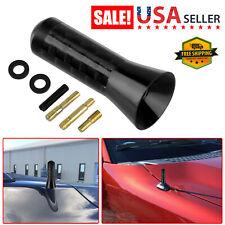 14 Carbon Fiber Car Amfm Radio Auto Short Antenna Stubby Screw Aluminum Black