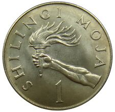 (J11) - Tansania Tanzania - 1 Shilingi 1966 - Fackel Torch - UNC - KM# 4