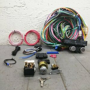 1968-74 Chevy Nova Main Wiring Harness Fuse Box Headlight Switch Kit yenko ss V8