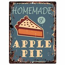 PP0396 Rust Homemade PIZZA Sign Store Shop Cafeteria Restaurant Kitchen Decor