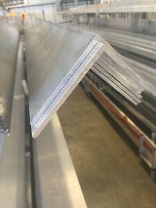 76.2x76.2x3.2mm Aluminium Angle 6.5 Metre Length 6060-T5