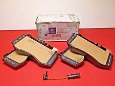 GENUINE MERCEDES BENZ FRONT BRAKE PADS W/ SENSOR E550 4MATIC/ GENUINE