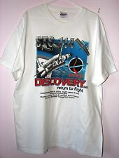 Discovery Return to Flight STS-114  Hanes Heavy Weight T-shirt new
