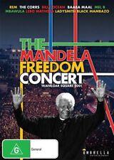 The Mandela Freedom Concert - Trafalgar Square 2001 (DVD, 2014)