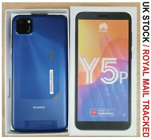 Huawei Y5p - 32GB - Phantom Blue (Unlocked) (Dual SIM) UK Version