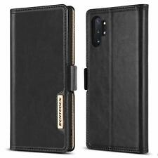 For Samsung Galaxy Note 10 Plus Luxury Flip Leather Wallet Hybrid Case Cover