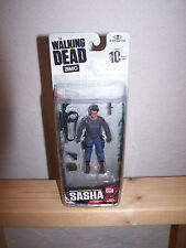 2017 AMC The Walking Dead Series 10 Sasha Walgreens Exclusive Action Figure