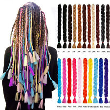 41'' Jumbo Braiding Hair Extension Long Folded Synthetic Twist Braids Dread 165g