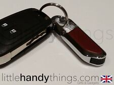 Chrome / metal clip su USB 8GB FLASH DRIVE PEN MEMORY STICK PORTACHIAVI / Carabiner