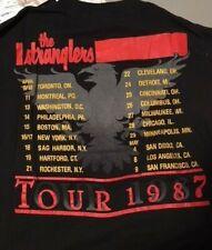 "VTG.1987 STRANGLERS ""DREAMTIME"" TOUR CONCERT T+PROGRAM,.L,PRINTED ON BOTH SIDES"