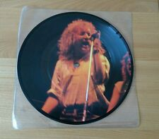 "Rage Bootleggers Roll The Dice 1981 UK 7"" Picture Disc Heavy Metal Hard Rock"