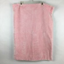 Costco Little Miracles Baby Blanket Plush Pink Cream Sherpa Back Soft Thick
