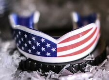 Oral Mart USA Flag Sports Mouth Guard (2 Sizes) Direct from Oral Mart