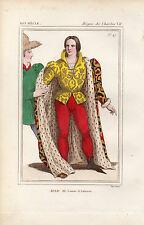 COSTUME DE LA FRANCE XVe siècle /  JEAN III, Comte d'Astarae