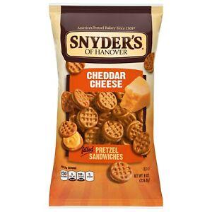 Snyder's Cheddar Cheese Pretzel Sandwiches 8 oz