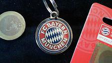 FCB FC Bayern München Schlüsselanhänger Keyring Emblem lizensiert 28mm beidseiti