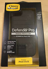 NEW OtterBox Defender Pro Rugged Series Case for iPhone 5/5s/SE Black 77-60757
