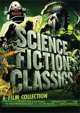Science Fiction Classics - 6 Film Collection (6 Disc) DVD NEW