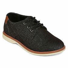 Arizona Brake Kid's Boy's Black Textile Lace Up Low Top Boots Shoes Size US 3 M