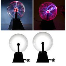 2 Stück Plasma kugeln Science Globe Glühlampen Tisch lampen Beleuchtung