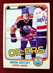 1981-82 OPC O-Pee-Chee #106 WAYNE GRETZKY 3rd Year HOF Edmonton Oilers