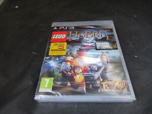 Sony Playstation 3 PS3 Game Lego The Hobbit Brand New Factory Sealed Sony Strip