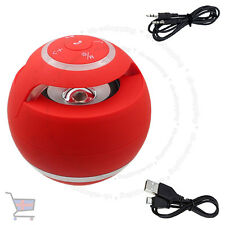 New red mini haut-parleur bluetooth sans fil main-libre pour pc portable mobile ukes