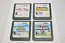 Lot of 4 Nintendo DS Mario Games Tested!