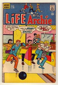Life with Archie #86 - June 1969 Archie Comics - Bowling cover, Very Good+ (4.5)