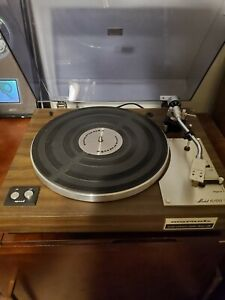 Vintage Marantz Model  6100 Turntable Brand New Belt. Works Great. Very Nice