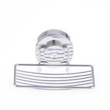 Stainless Steel Soap Holder Cup Box Dish Strong Vacuum Suction Cup Soap Storage'