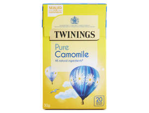 Twinings CAMOMILE Envelope Teabags 4 x 20 = 80 Infusion Teabags