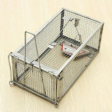 Sensetive Rodent Control Catch Rat Squirrel Cage Mouse Live Hunting Mice Trap WP
