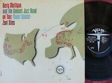Gerry Mulligan & Concert Jazz Band ORIG US LP EX '62 MONO Verve V8438 Jazz Cool