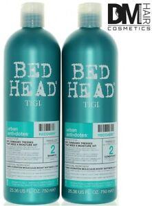 TIGI BED HEAD RECOVERY LEVEL 2 SHAMPOO 750ml + BALSAMO 750ml KIT SET DUO TIGI