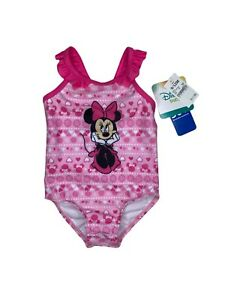Disney Baby Minnie Mouse One-Piece Swimsuit Bathing Suit