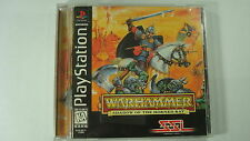 Warhammer: Shadow of the Horned Rat  (PlayStation, 1996) PS1