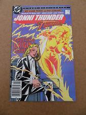 Jonni Thunder 1 . Origin & 1st App. DC 1985 . FN / VF