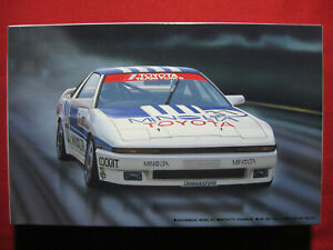 1988 Toyota Supra 3.0 GT Group A Racing Minolta Team Tom's 1/24 Fujimi Model Kit