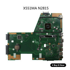 For Asus X551MA Laptop Motherboard D550MA F551MA N2815 60NB0480-MB1500 Full Test