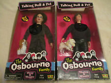 The Osbourne Family talking dolls