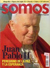 Juan Pablo II Peregrino De La Paz y Esperanza Revista Somos 2002 Mexican Edition